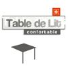 AMEUBLEMENT : Déjeuner au lit avec la table de lit
