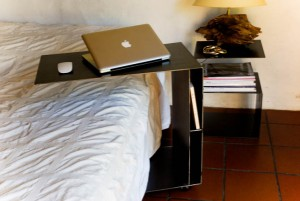 Ordinateur au lit et table de lit table de - Table de lit pour ordinateur portable ...