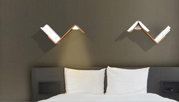 Des luminaires adaptés pour le lit