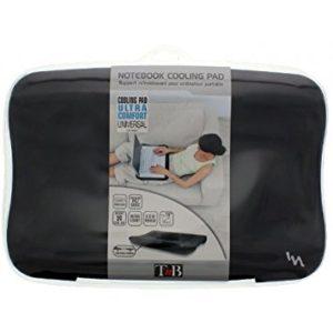 Support ordinateur portable genoux avec ventilateur intégré